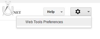 Preferences Tools Webmaster Tools