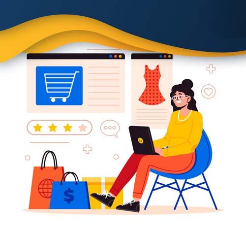وب سایت فروشگاهی