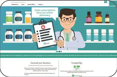 طراحی سایت دارویی وردپرس