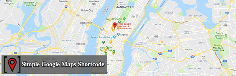 افزونه Simple Google Maps Shortcode